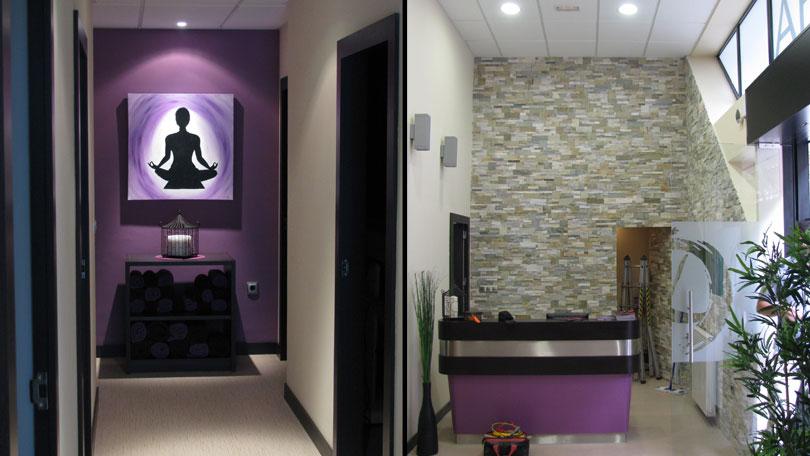 Centros de estetica elegant masaje con piedras en - Imagenes de centros de estetica ...